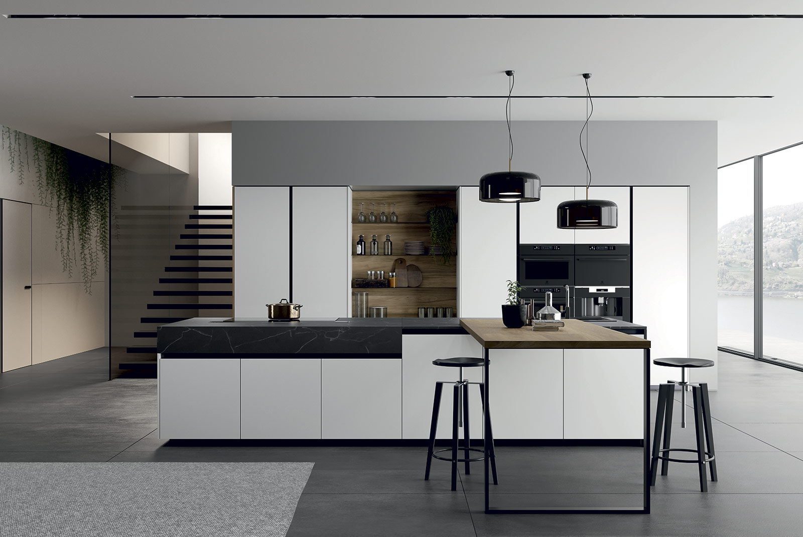 cucina moderna arredo3 glass