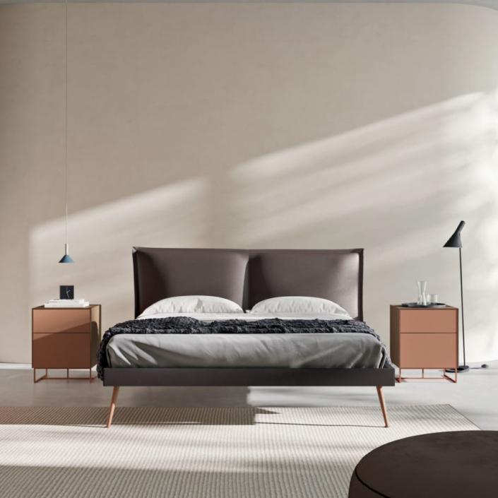 letto wall leda a roma